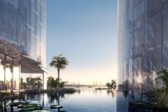 Monad Terrace - Lagoon with Bird